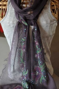 Mothers Day Embellished Scarf